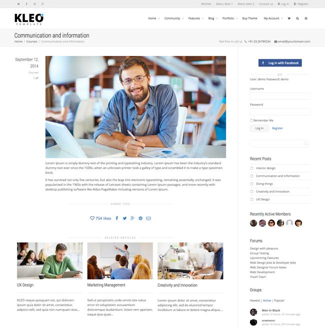 Blog Post Example