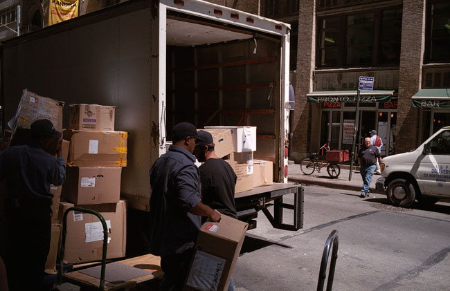 Unloading Boxes