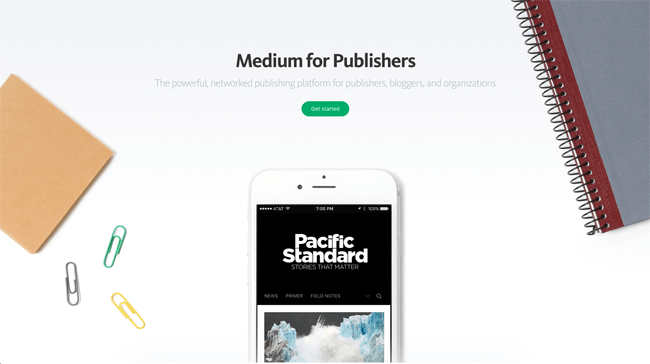 Medium for Publishers
