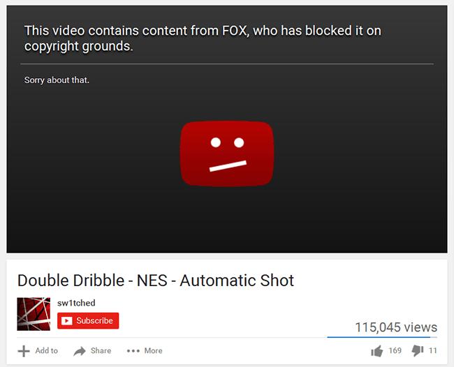 Double Dribble Video Blocked