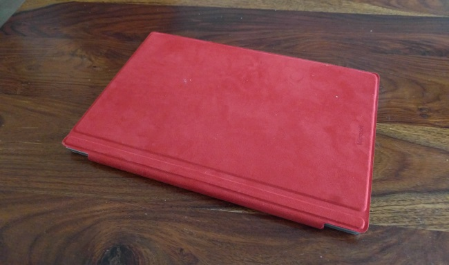 Surface Pro 4 with Type Cover
