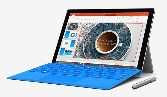 The Surface Pro 4