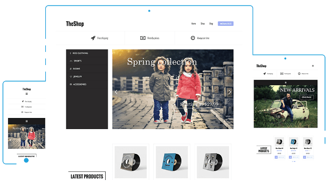 TheShop eCommerce WordPress Themes