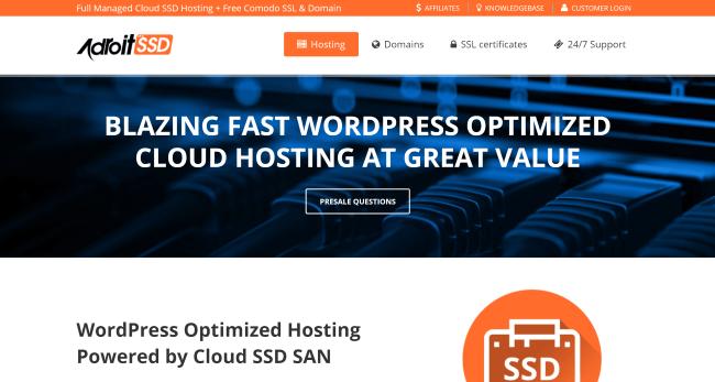 Blazing Fast WordPress Hosting