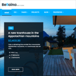 Build a Real Estate Website with the Bellaina WordPress Theme