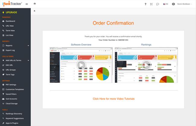 Order Confirmed