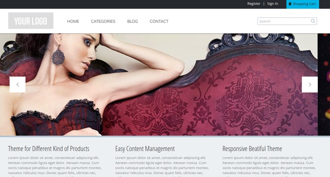 Commerce Drupal Theme