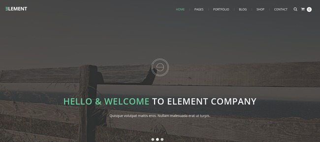 Element Drupal Theme