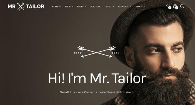 Mr. Tailor WordPress Theme