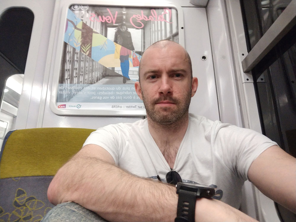 On the Train to Paris