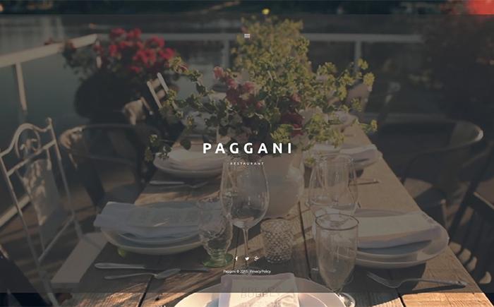 Paggani – Eatery WordPress Template