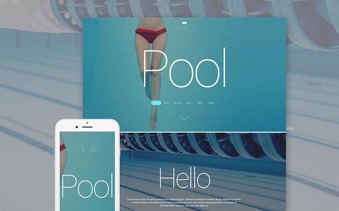 Swimming Pool Cleaning Company WordPress Theme