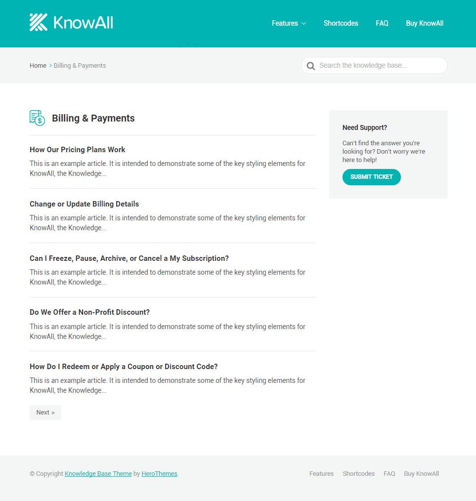 KnowAll Category