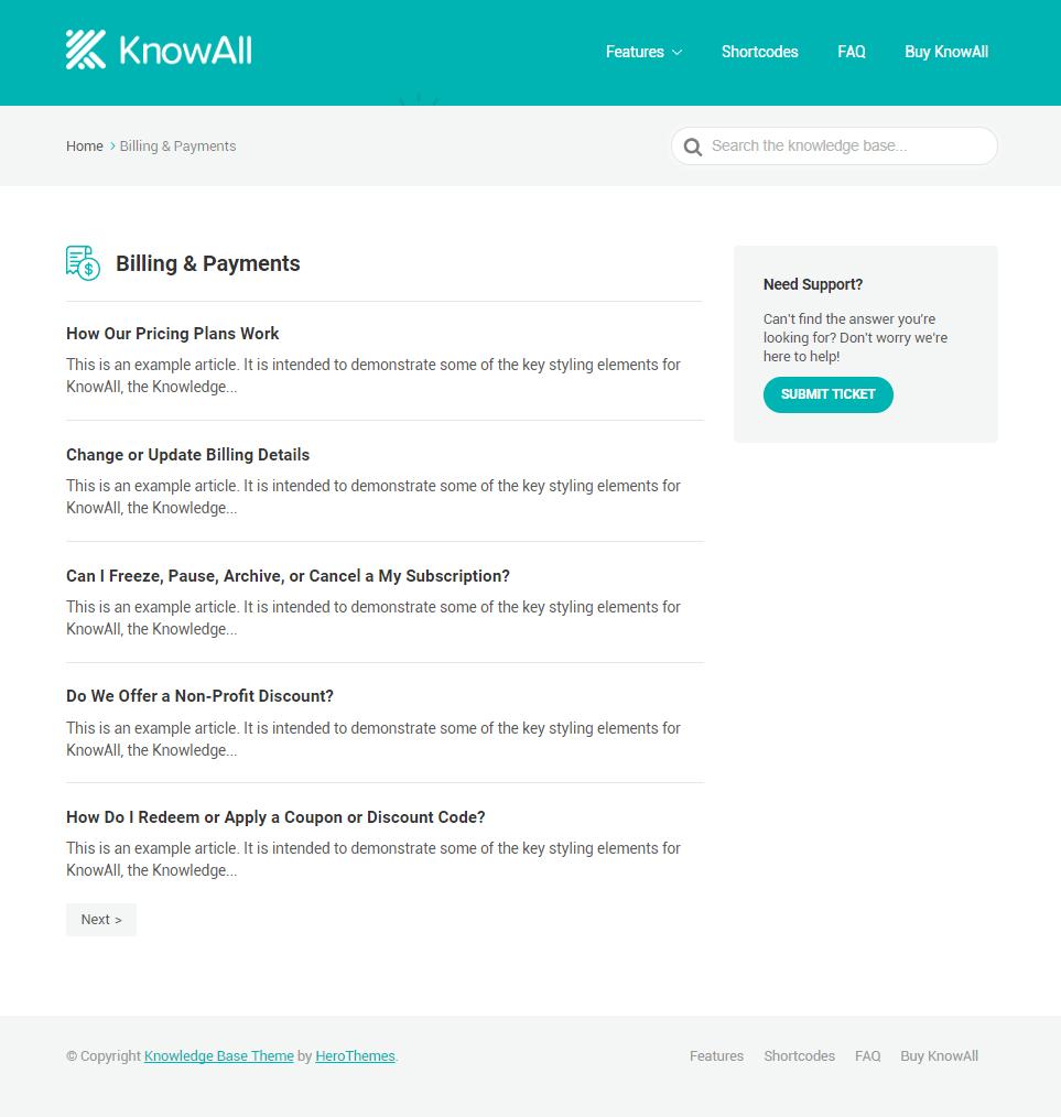KnowAll Category