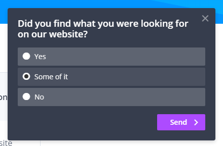 Survey Widget