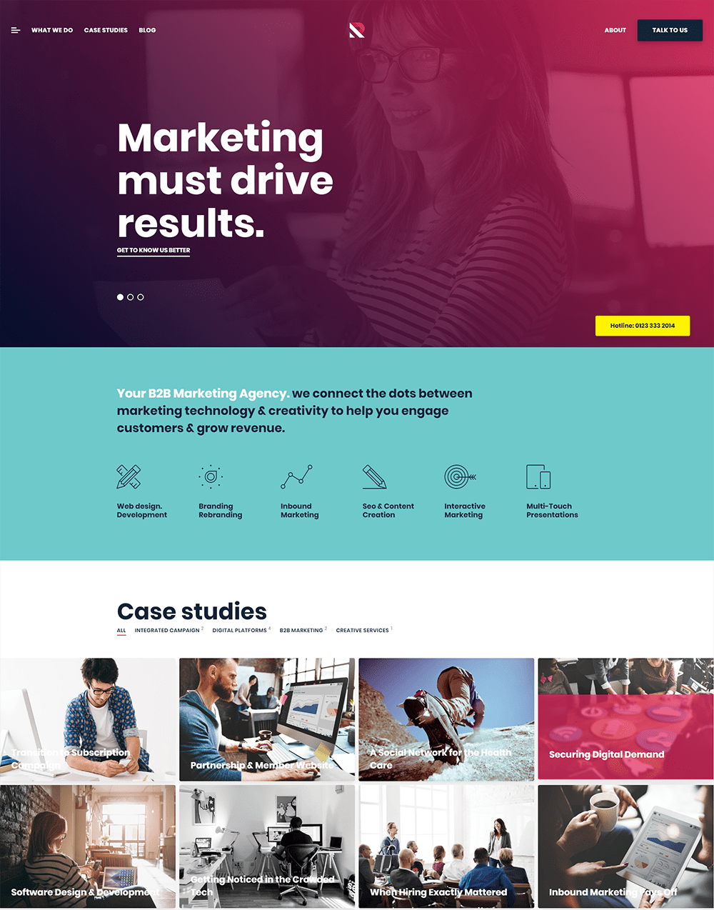 Royal Marketing WordPress Theme