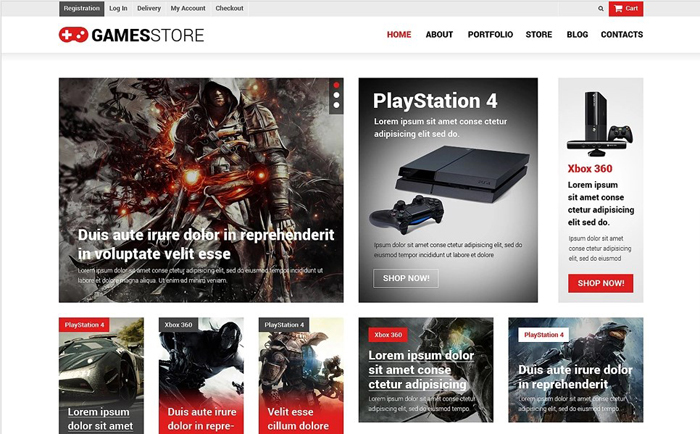 GameStore WooCommerce WordPress Theme