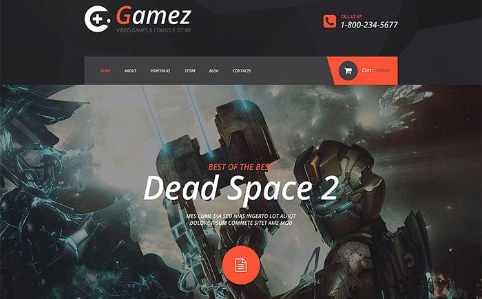 Gamez VirtueMart Template