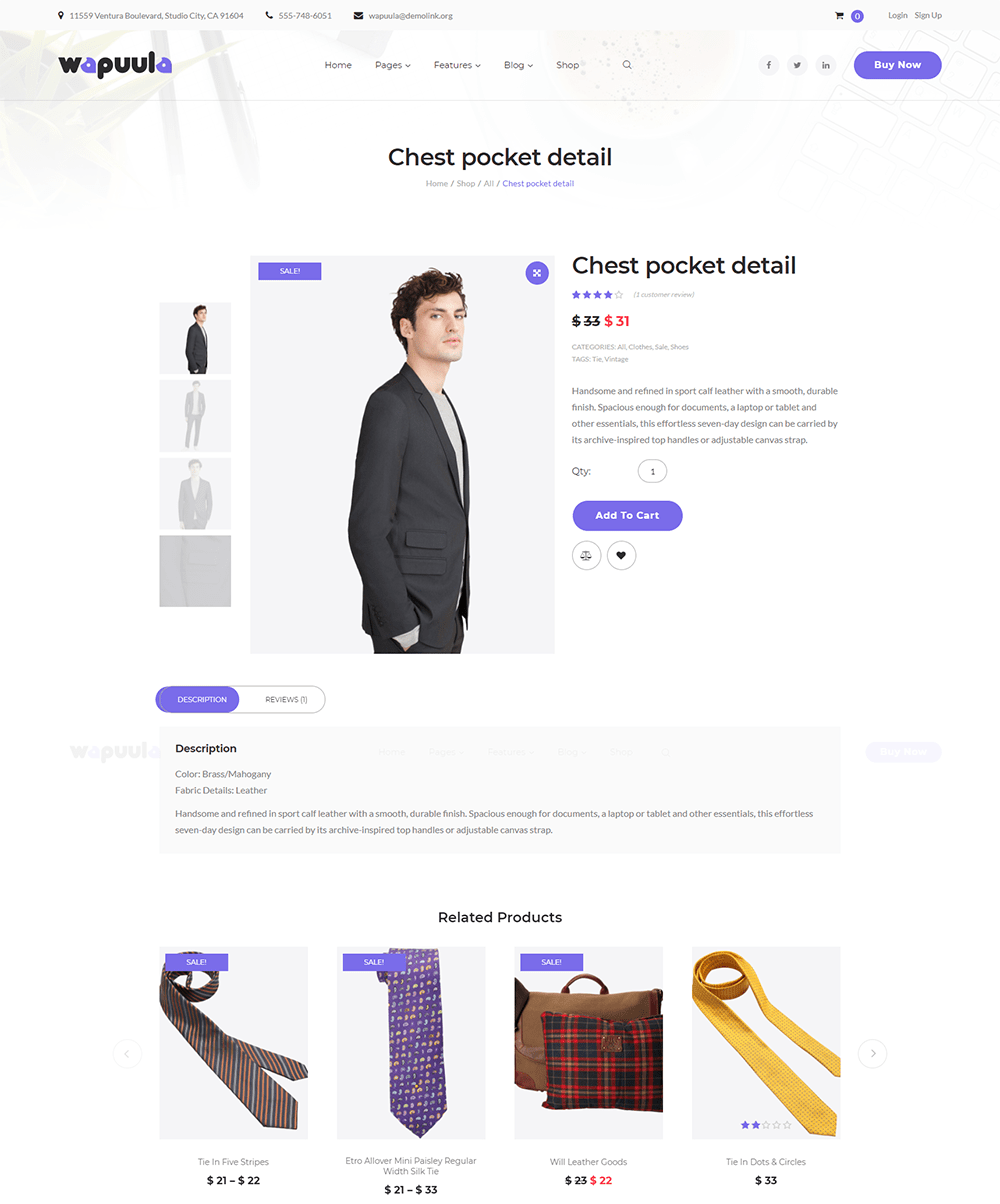 Shopping Home Page