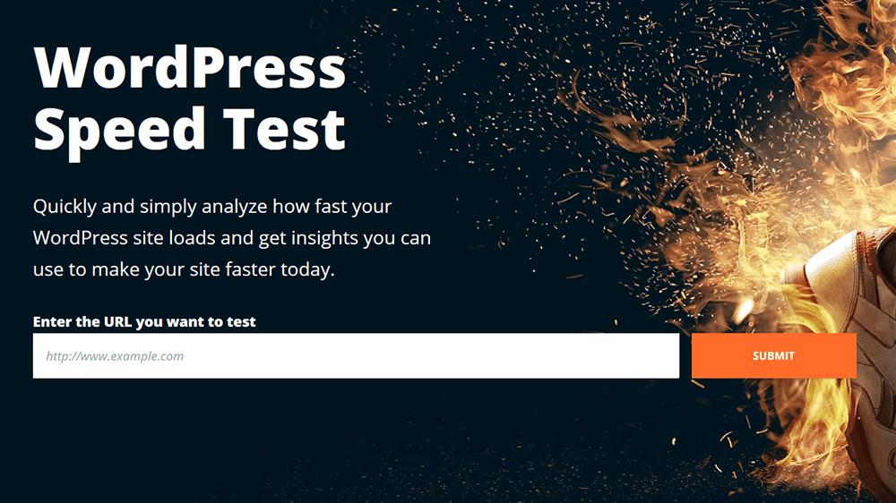 WPEngine WordPress Speed Tool