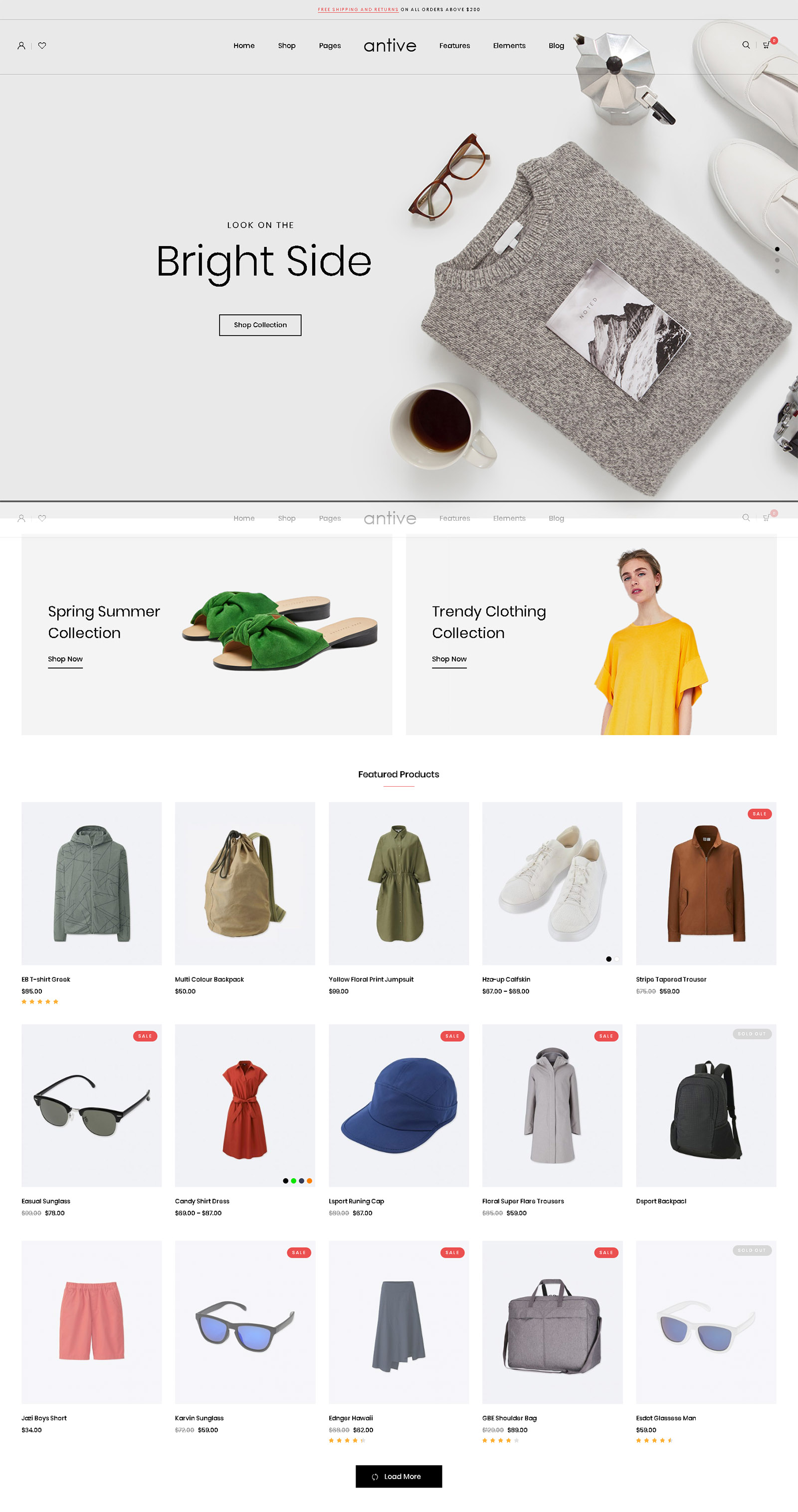 Antive WordPress Theme