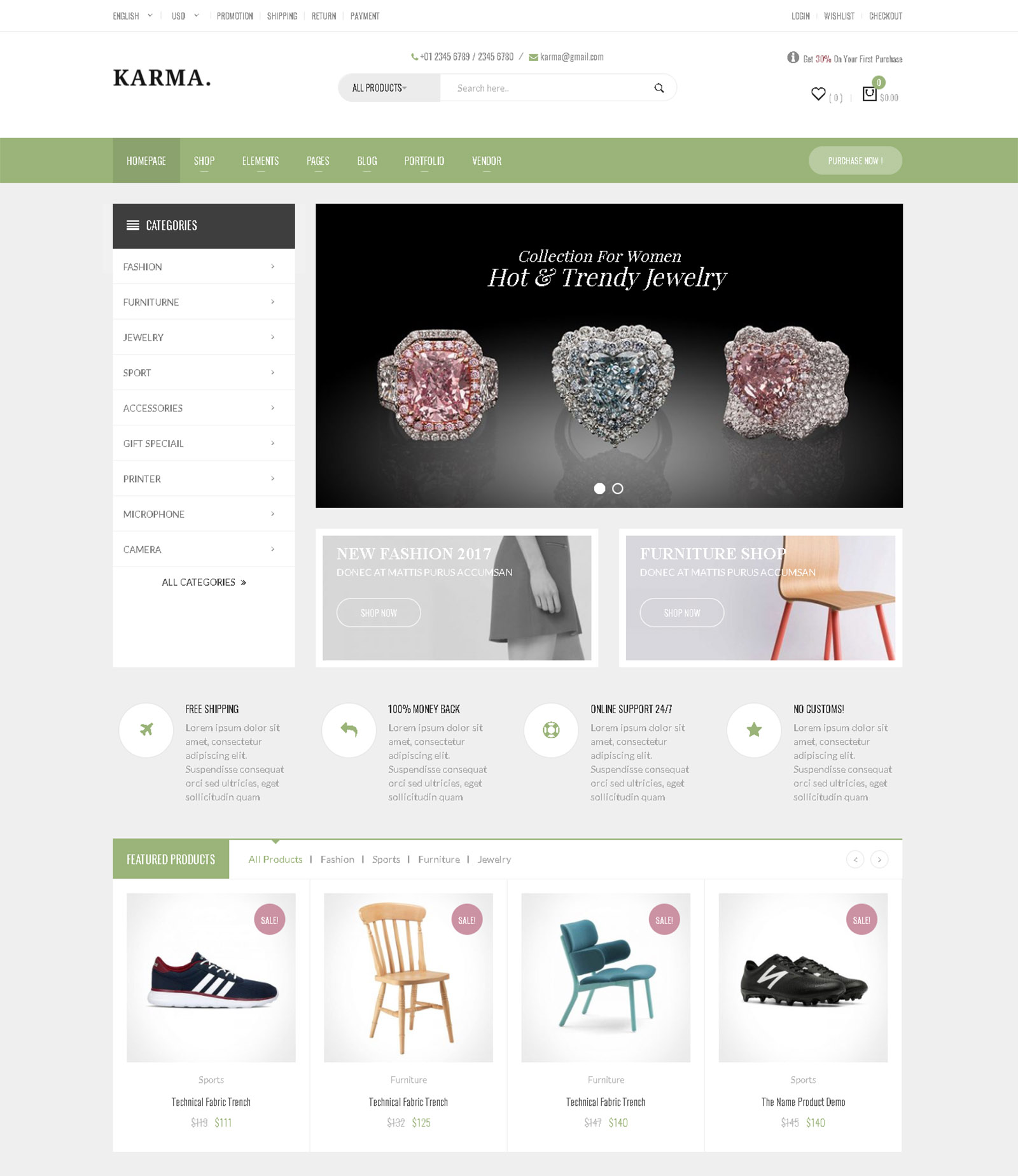 KaraMat WordPress Theme