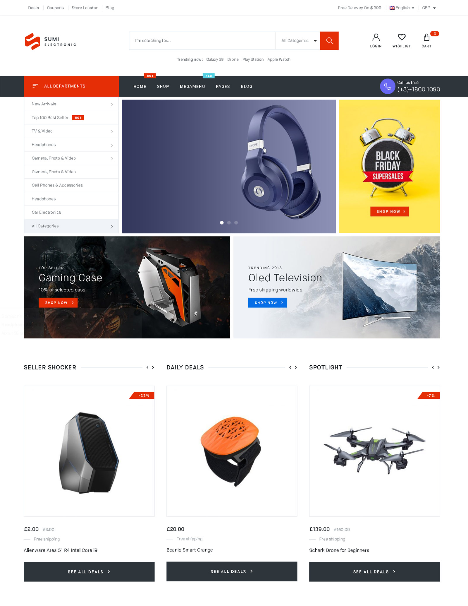 Sumi WordPress Theme