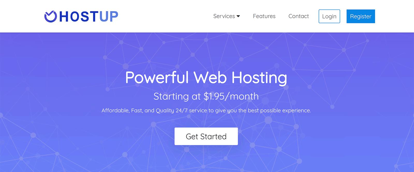 HostUp Webite Hosting