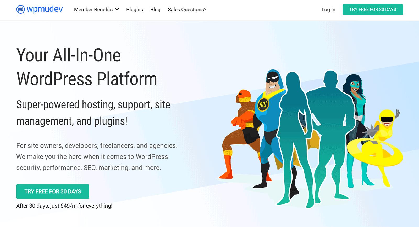 WPMU Dev - The All-in-One WordPress Platform