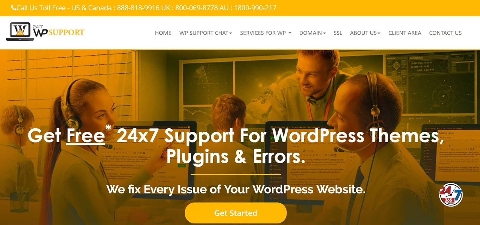 WP Support WordPress Maintenance