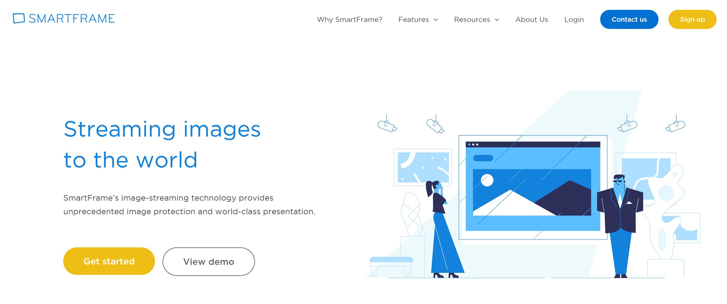 SmartFrame Image Service