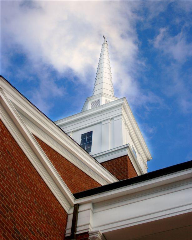 High Peak Baptist Church steeple