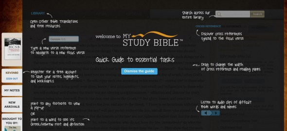 mystudybible guide
