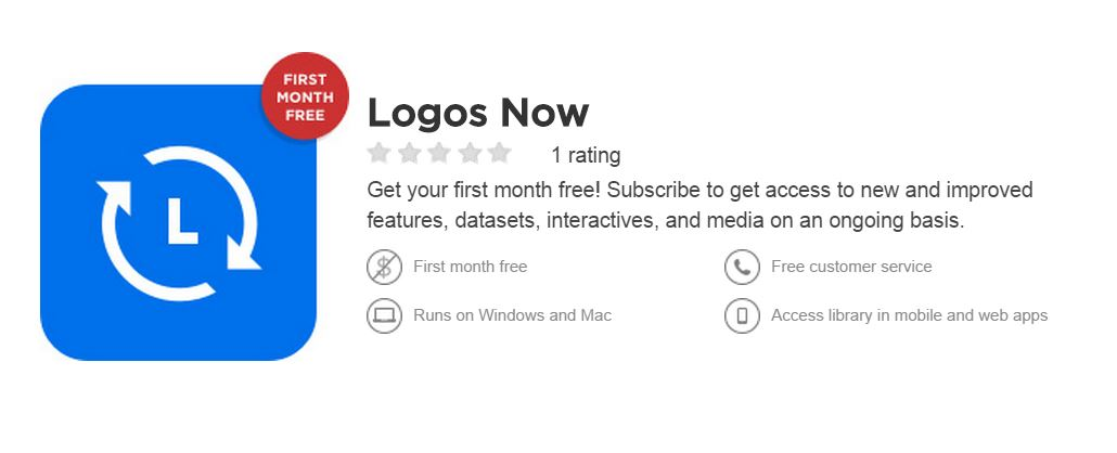Logos Now Subscription Monthly Service Launches for $8.99