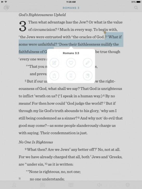 esv bible app from crossway
