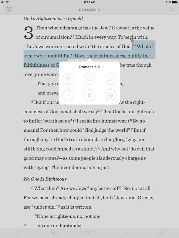 esv bible app from crossway