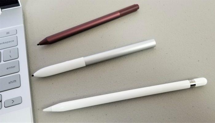 google pixelbook pen suface pen apple pencil