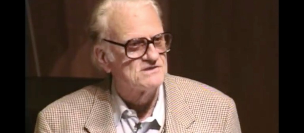 Billy Graham, Technology and the Church