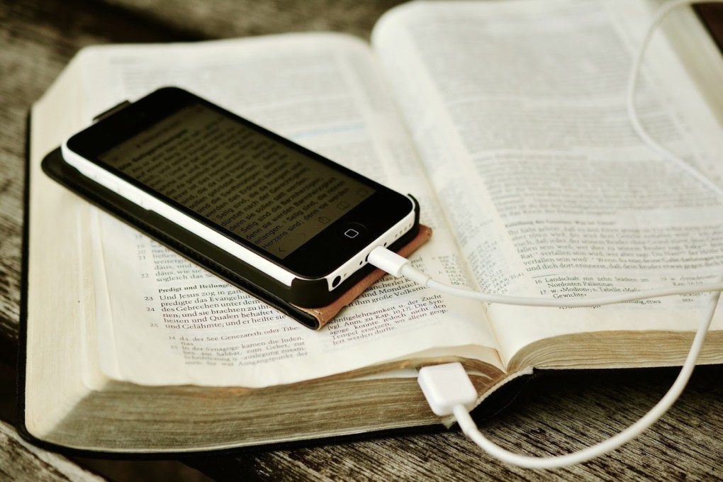 bible app versus print bible