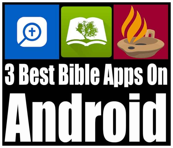 3 best bible apps on android