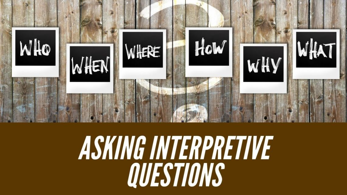 Asking Interpretive Questions in Logos: Step 3 in Creative Digital Sermon Prep