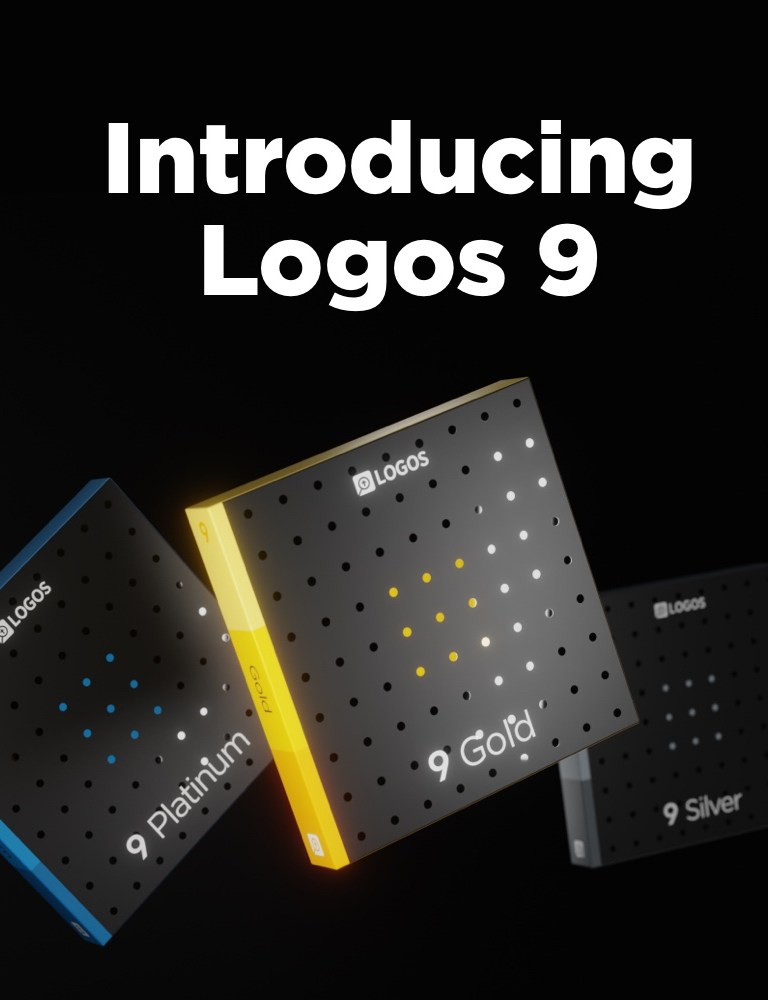 Logos 9 Upgrade is Here: Get a Discount Here