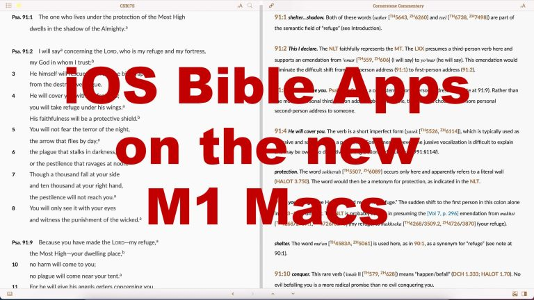 7 Best iOS Bible Study Apps on M1 Macs