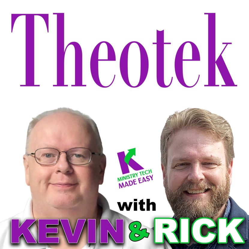 theotek with kevin and rick cover art