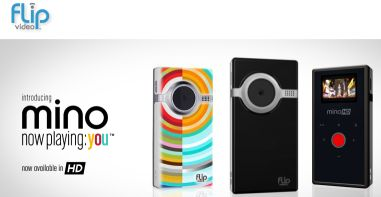 Flip Video's latest model is the Mino HD