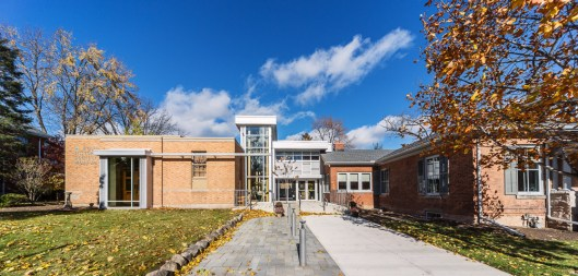 Dundas Museum and Archives by McCallum Sather Architects photographed by Kevin Thom