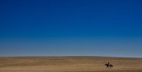 Lone Rider - Inner Mongolia
