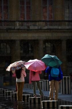Paris Sunshower