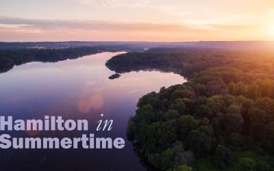 Hamilton in Summertime