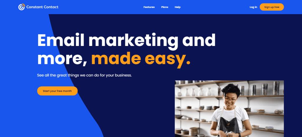 Constant Contact, le marketing par e-mail et plus encore, simplifié